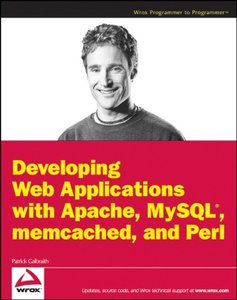 Developing Web Applications with Apache, MySQL, memcached, and Perl (Paperback)-cover