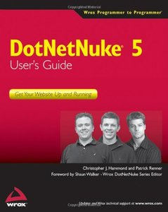 DotNetNuke 5 User's Guide: Get Your Website Up and Running (Paperback)-cover