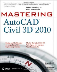 Mastering AutoCAD Civil 3D 2010 (Paperback)-cover