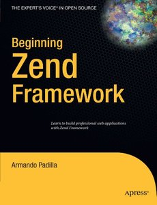 Beginning Zend Framework (Paperback)-cover
