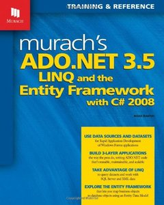 Murach's ADO.NET 3.5, LINQ, and the Entity Framework with C# 2008 (Paperback)-cover