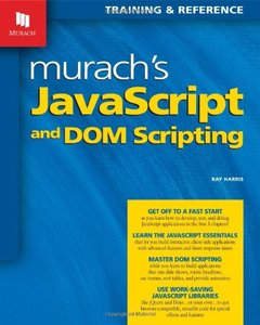 Murach's JavaScript and DOM Scripting (Paperback)-cover