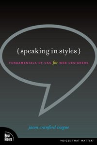 Speaking in Styles: Fundamentals of CSS for Web Designers (Paperback)-cover