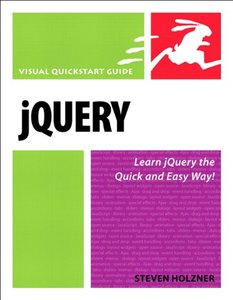 jQuery: Visual QuickStart Guide (Paperback)-cover