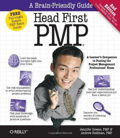 Head First PMP: A Brain-Friendly Guide to Passing the Project Management Professional Exam, 2/e (Paperback)-cover