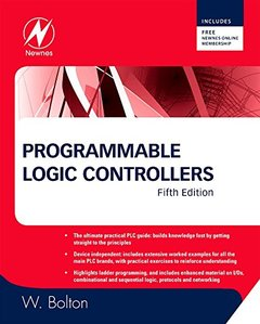 Programmable Logic Controllers, 5/e (Paperback)-cover