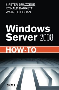 Windows Server 2008 How-To (Paperback)-cover