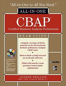 CBAP Certified Business Analysis Professional All-in-One Exam Guide (Hardcover)-cover