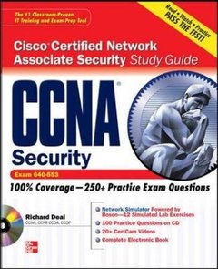 CCNA Cisco Certified Network Associate Security Study Guide with CDROM (Exam 640-553) (Paperback)-cover