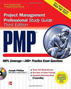 PMP Project Management Professional Study Guide, 3/e (Paperback)-cover