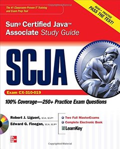 SCJA Sun Certified Java Associate Study Guide (Exam CX-310-019) (Paperback)-cover