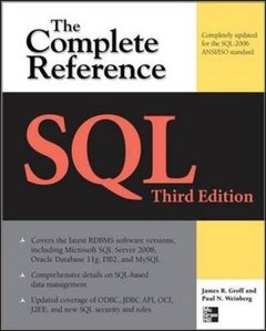 SQL The Complete Reference, 3/e (Paperback)-cover