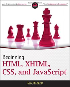 Beginning HTML, XHTML, CSS, and JavaScript (Paperback)-cover