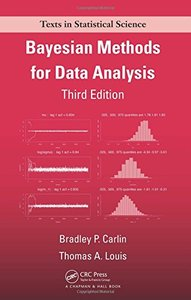 Bayesian Methods for Data Analysis, 3/e (Hardcover)-cover