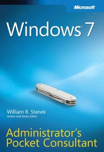 Windows 7 Administrator's Pocket Consultant (Paperback)-cover
