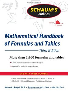 Schaum's Outline of Mathematical Handbook of Formulas and Tables, 3/e (Paperback)