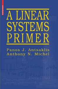 A Linear Systems Primer (Paperback)-cover