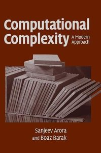Computational Complexity: A Modern Approach (Hardcover)-cover