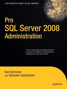Pro SQL Server 2008 Administration-cover