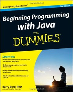 Beginning Programming with Java For Dummies, 3/e (Paperback)-cover