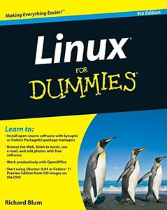 Linux For Dummies, 9/e (Paperback)-cover