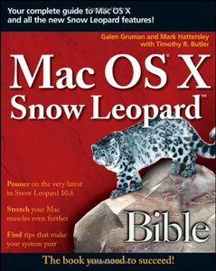 Mac OS X Snow Leopard Bible (Paperback)-cover