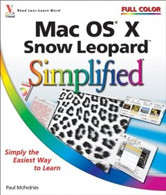 Mac OS X Snow Leopard Simplified (Paperback)-cover