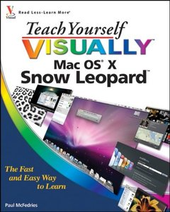 Teach Yourself VISUALLY Mac OS X Snow Leopard (Paperback)-cover