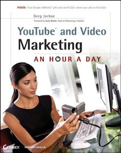 YouTube and Video Marketing: An Hour a Day (Paperback)-cover