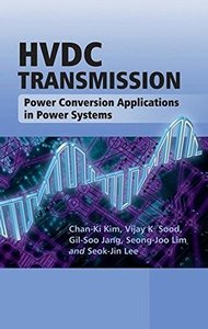HVDC Transmission: Power Conversion Applications in Power Systems (Hardcover)-cover