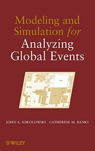 Modeling and Simulation for Analyzing Global Events (Hardcover)-cover