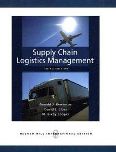 Supply Chain Logistics Management, 3/e (Paperback)