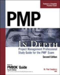 PMP in Depth, 2/e: Project Management Professional Study Guide for the PMP Exam (Paperback)-cover