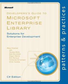 Developer's Guide to Microsoft Enterprise Library, C# Edition (Paperback)-cover