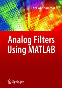 Analog Filters using MATLAB (Hardcover)-cover