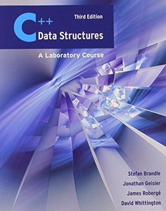 C++ Data Structures: A Laboratory Course, 2/e (Paperback)-cover