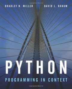 Python Programming in Context (Paperback)-cover