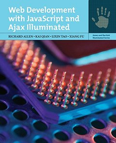 Web Development with JavaScript and AJAX Illuminated (Paperback)-cover