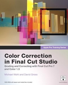 Apple Pro Training Series: Color Correction in Final Cut Studio (Paperback)-cover