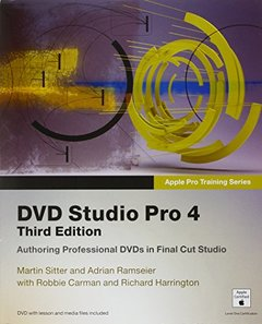 Apple Pro Training Series: DVD Studio Pro 4, 3/e (Paperback)-cover