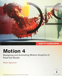 Apple Pro Training Series: Motion 4 (Paperback)-cover