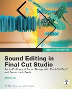 Apple Pro Training Series: Sound Editing in Final Cut Studio (Paperback)-cover