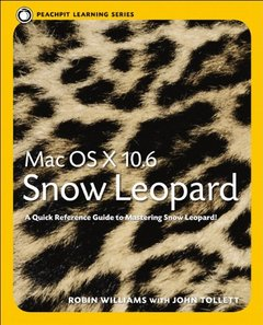 Mac OS X 10.6 Snow Leopard: Peachpit Learning Series (Paperback)-cover