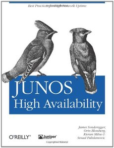 JUNOS High Availability (Paperback)-cover