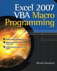 Excel 2007 VBA Macro Programming, 2/e (Paperback)-cover