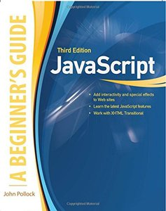 JavaScript: A Beginner's Guide, 3/e (Paperback)-cover
