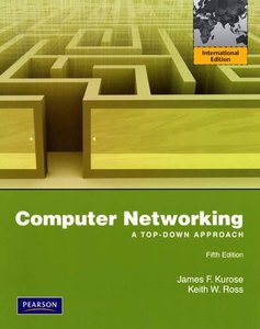 Computer Networking: A Top-Down Approach, 5/e (IE-Paperback)-cover