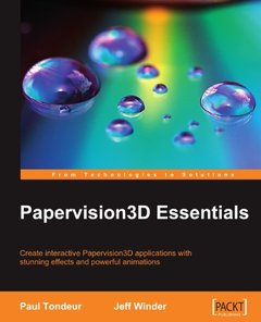 Papervision3D Essentials (Paperback)-cover