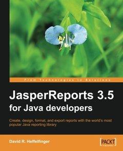 JasperReports 3.5 for Java Developers (Paperback)-cover