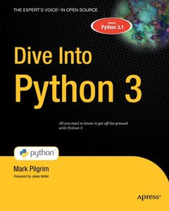 Dive Into Python 3 (Paperback)-cover